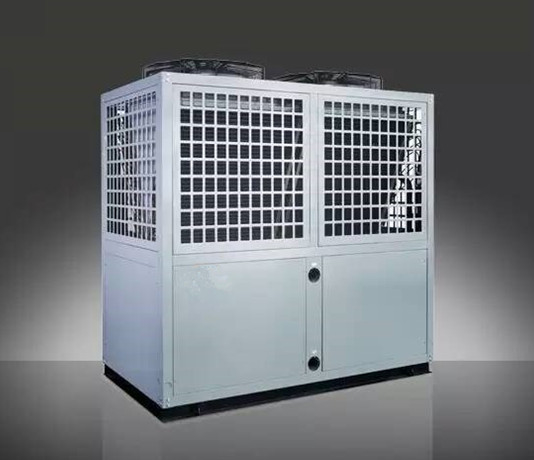 81.2 KW EVI low temperature commercial air source heat pump for hot water projects