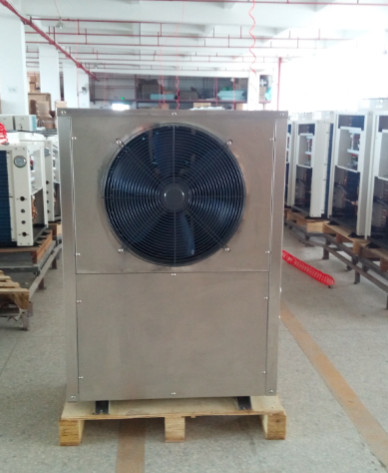air source heat pump for heating/cooling and hot water solution