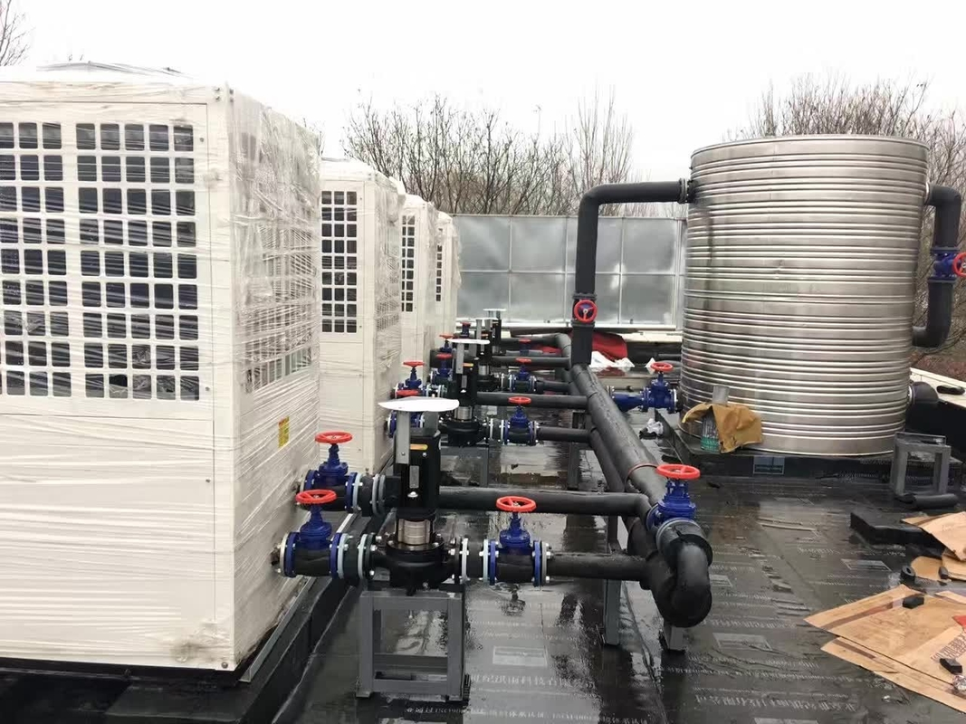 72 KW heating capacity Air source heat pump for hot water