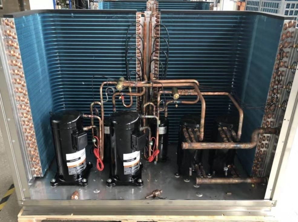 44 KW air source heat pump water heater
