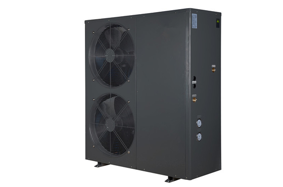 China 20.6 KW EVI low temperature air source heat pump for cooling and heating and hot water distributor