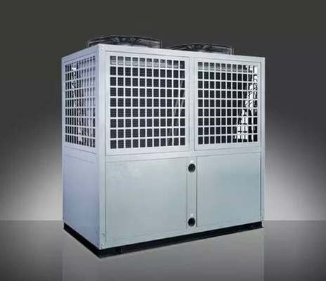 China 81.2 KW EVI low temperature commercial air source heat pump for hot water projects factory