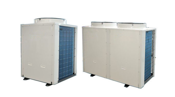 China 38 KW heating capacity Air source heat pump for hot water projects Public buildings distributor
