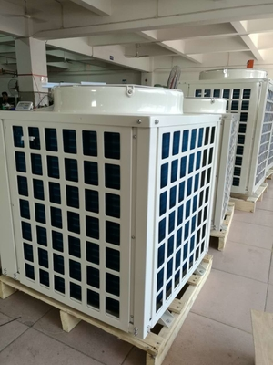 China 18.8 KW heating capacity Air source heat pump for hot water distributor