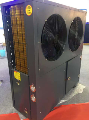China 18 KW EVI low temperature air source heat pump distributor