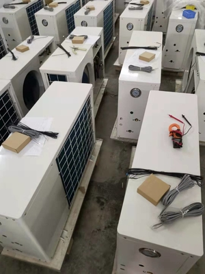 China 12 kW Domestic Air Source Heat Pump; with circulation pump inside factory