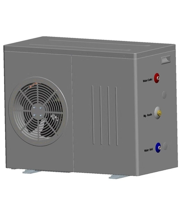 China 7.5 kW Domestic Air Source Heat Pump; with circulation pump inside factory