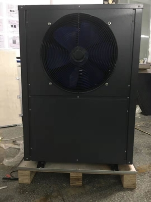 China 10.8kW air source heat pump, side-discharge fan distributor