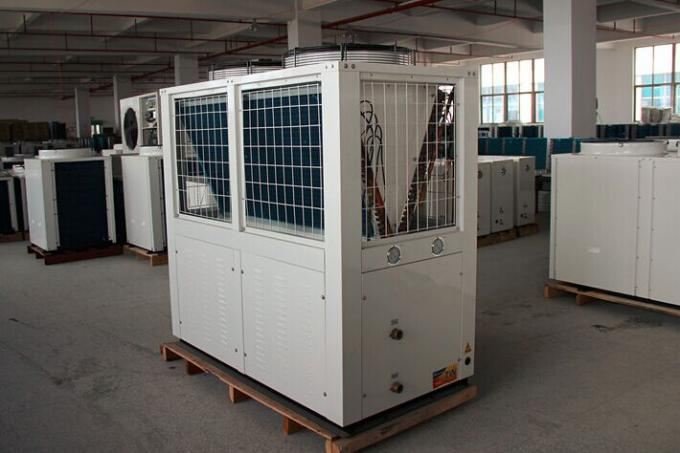 70KW High temperature air source heat pump with 95℃ hot water