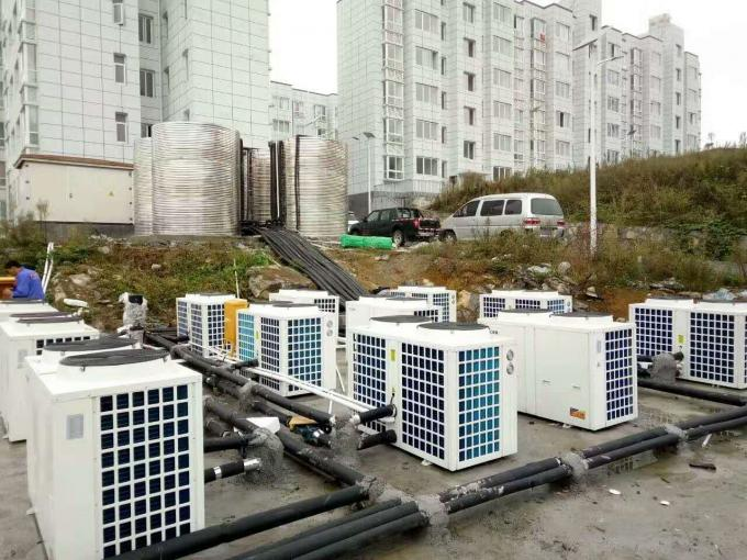 18KW,36KW,72KW EVI low temperature air source heat pump for cooling and heating